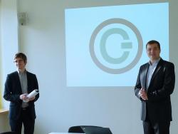 Philipp Homar und Projektleiter Clemens Appl.