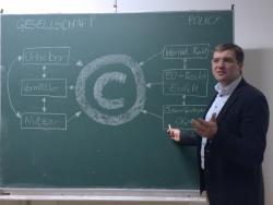 Dr. Clemens Appl erklärt Zusammenhänge im Urheberrecht.