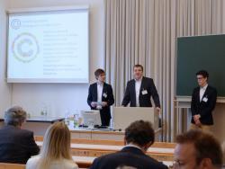 Philipp Homar, Clemens Appl (Projektleiter) und Daniel Hudolik (TGM).