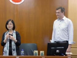 Die leitenden Wissenschaftler der Kooperation Prof LI (links) und Dr. Appl (rechts).