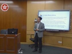 Prof Guan, einer der Kooperationspartner des PIP-Projekts.